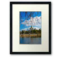 Beautiful city view Framed Print
