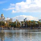 Beautiful city view by Eduard Isakov