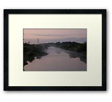 kings sedgmoor drain Framed Print