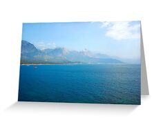 Beautiful seaside Greeting Card