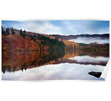 Autumn Reflections at Loch Faskally Poster