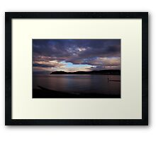 Seascape - North Wales Framed Print