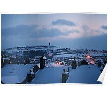 Huddersfield in Winter Poster