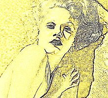 JEAN HARLOW IN YELLOW. by Terry Collett