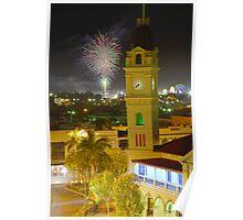 Bundaberg Post Office Clock Tower Poster