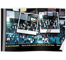 Denzil in Times Square Poster