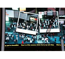 Denzil in Times Square Photographic Print
