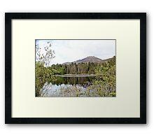 Sally lake Framed Print