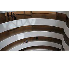 Interior, Guggenheim Museum, New York, USA Photographic Print