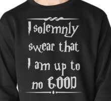 I solemnly swear that I am up to no good! Pullover