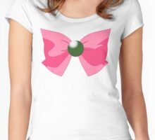 SAILOR JUPITER BOW Women's Fitted Scoop T-Shirt