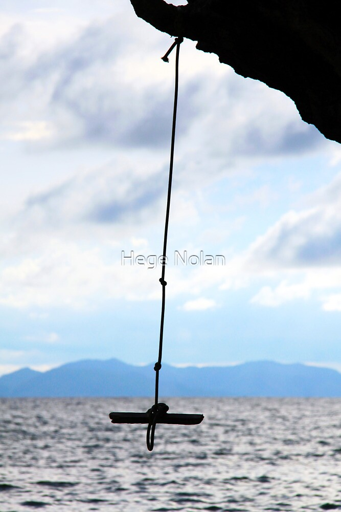 rope with a view by Hege Nolan