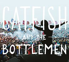 Catfish And The Bottlemen - Live On Stage by BlueWallDesigns