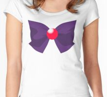 SAILOR MARS BOW Women's Fitted Scoop T-Shirt