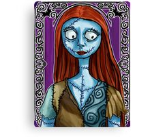 Sally Canvas Print
