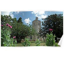 Axminster Church Poster