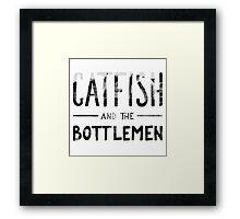 Catfish And The Bottlemen Framed Print