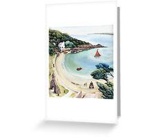 Cwm yr Egwlys - Pembrokeshire Coast Path.  Greeting Card