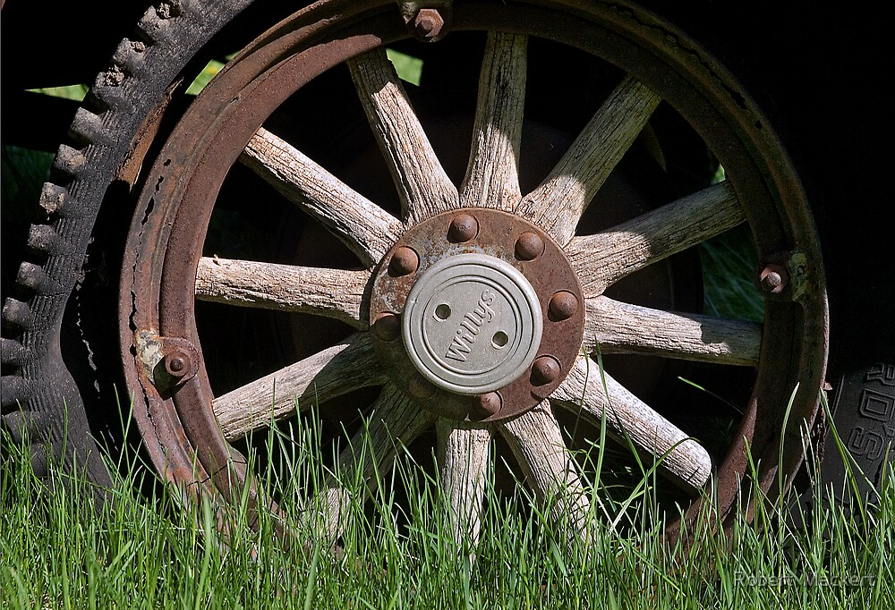 Willys Wheel by Robert  Mackert