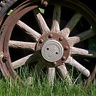Willys Wheel by Robert  Mackert