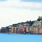 A View of Porto Venere by Roland Pozo