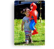 Spider Girl Canvas Print