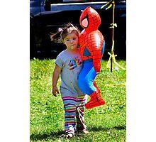 Spider Girl Photographic Print