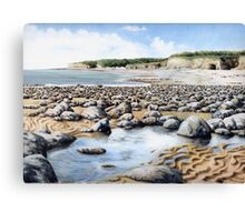 Towards Atlantic College, Glamorgan Coast, South Wales. Canvas Print