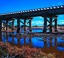 Tenindewa Railway Bridge by Pene Stevens