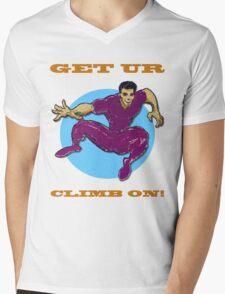Get Ur Climb On Mens V-Neck T-Shirt