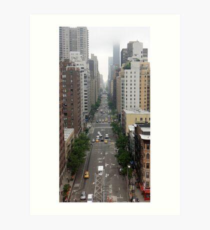 New York Streetview Art Print