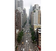New York Streetview Photographic Print