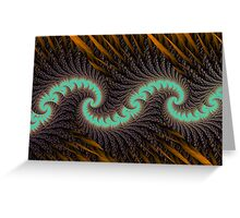 Quill Wave Greeting Card
