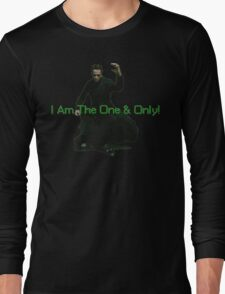 Neo Is The One & Only Long Sleeve T-Shirt