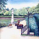 Scott Memorial 2, Roath Park, Cardiff by Helen Lush