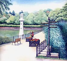 Scott Memorial 2, Roath Park, Cardiff by Helen Lush