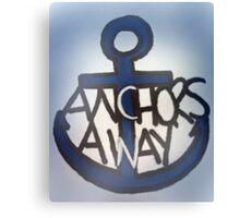 Anchor's Away Canvas Print