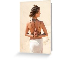 Body Mind Greeting Card