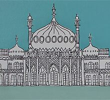 Brighton & Hove Illustrated by Adam Regester