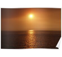 Sunset in Gran Canaria Poster