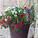 Flower & Flags by Susan S. Kline