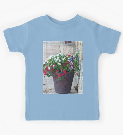 Flower & Flags Kids Tee