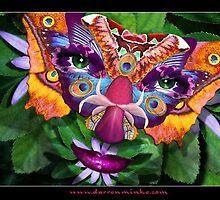 Masked Beauty by ecoartopia