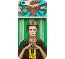 Santa Frida iPhone Case/Skin