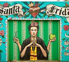 Santa Frida by fieldey