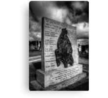 Hunger Strike Memorial Canvas Print