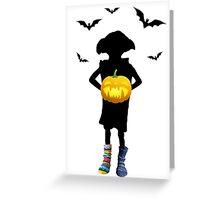 Halloween Dobby Greeting Card