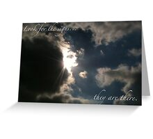 Look for the signs....  Greeting Card