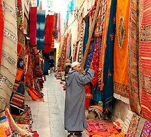 carpet market in morocco by milena boeva