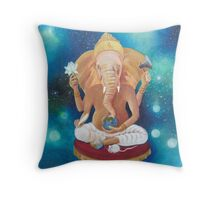 """The Gate keeper"" Throw Pillow"